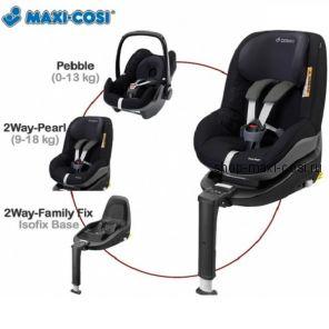 2wayPearl (ТуВей Пёрл) с базой Isofix. Детское автокресло Maxi-Cosi 2wayPearl с 6 месяцев и до 4 лет